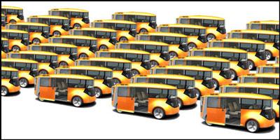 taxi-fleet-concept